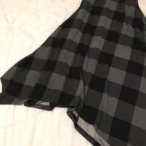 Reborn Collection Dresses - Plaid Maxi Dress with Pockets
